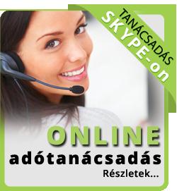 Online adótanácsadás