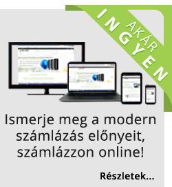 Online számlázás ingyenesen